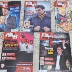 Coleccionismo deportivo: REVISTAS DE AJEDREZ PEON DE REY. Lote 174329793