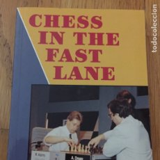 Coleccionismo deportivo: CHESS IN THE FAST LANE, BILL AND MICHAEL ADAMS, EN INGLES. Lote 174712945