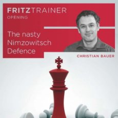 Coleccionismo deportivo: AJEDREZ. CHESS. THE NASTY NIMZOWITSCH DEFENCE - CHRISTIAN BAUER DVD. Lote 175507027