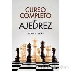 Coleccionismo deportivo: CURSO COMPLETO DE AJEDREZ - MIGUEL ILLESCAS (CARTONÉ). Lote 175552005