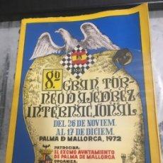 Coleccionismo deportivo: 8 º GRAN TORNEO INTERNACIONAL PALMA DE MALLORCA 1972 TODAS LAS PARTIDAS DEL TORNEO,. Lote 177050357