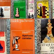 Coleccionismo deportivo: LOTE DE 12 LIBROS DE AJEDREZ. Lote 177054273
