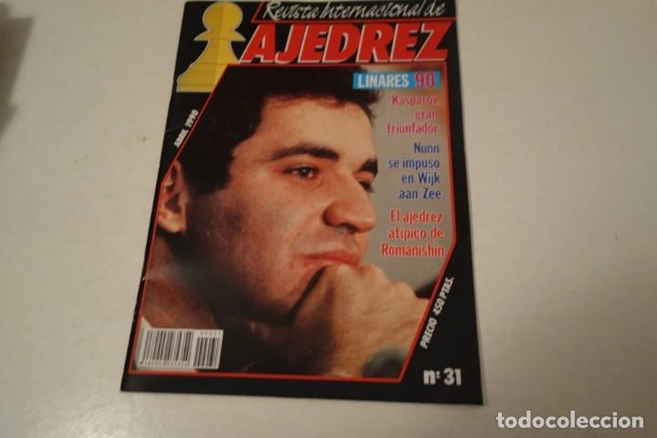 ESCACS. CHESS. AJEDREZ. REVISTA INTERNACIONAL DE AJEDREZ NÚM 31 ABRIL 1990. (Coleccionismo Deportivo - Libros de Ajedrez)