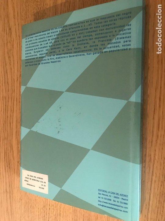 Coleccionismo deportivo: CURSO DE APERTURAS, SISTEMAS SEMIABIERTOS / DANIEL ELGUEZÁBAL VARELA / 2003 PRIMERA PARTE - Foto 6 - 194610365