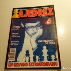Coleccionismo deportivo: AJEDREZ. CHESS. REVISTA INTERNACIONAL. NÚM 73. OCTUBRE 1993. Lote 178073814