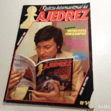 Collectionnisme sportif: REVISTA INTERNACIONAL DE AJEDREZ NÚM 14 . NOVIEMBRE 1988.. Lote 178092463