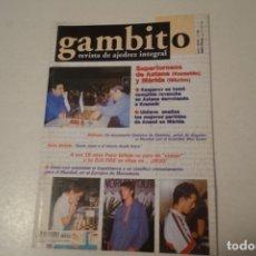 Coleccionismo deportivo: AJEDREZ.CHESS. REVISTA GAMBITO NÚM 55. AÑO 2001. Lote 178366893