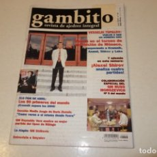 Coleccionismo deportivo: AJEDREZ.CHESS. REVISTA GAMBITO NÚM 53. AÑO 2001. Lote 178369348