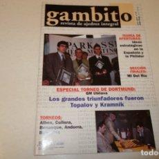 Coleccionismo deportivo: AJEDREZ.CHESS. REVISTA GAMBITO NÚM 57. AÑO 2001. Lote 178369581
