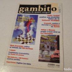 Coleccionismo deportivo: AJEDREZ.CHESS. REVISTA GAMBITO NÚM 54. AÑO 2001. Lote 178371240