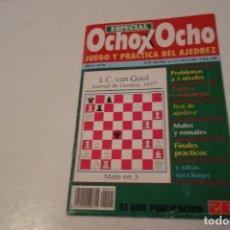 Coleccionismo deportivo: AJEDREZ.CHESS. REVISTA ESPECIAL OCHO X OCHO AÑO III Nº 20. Lote 178371408