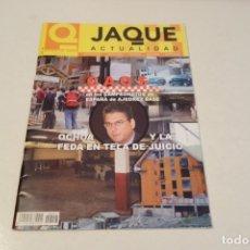 Coleccionismo deportivo: AJEDREZ.CHESS. REVISTA JAQUE ACTUALIDAD. AGOSTO 2002.NÚM 557. Lote 178372328