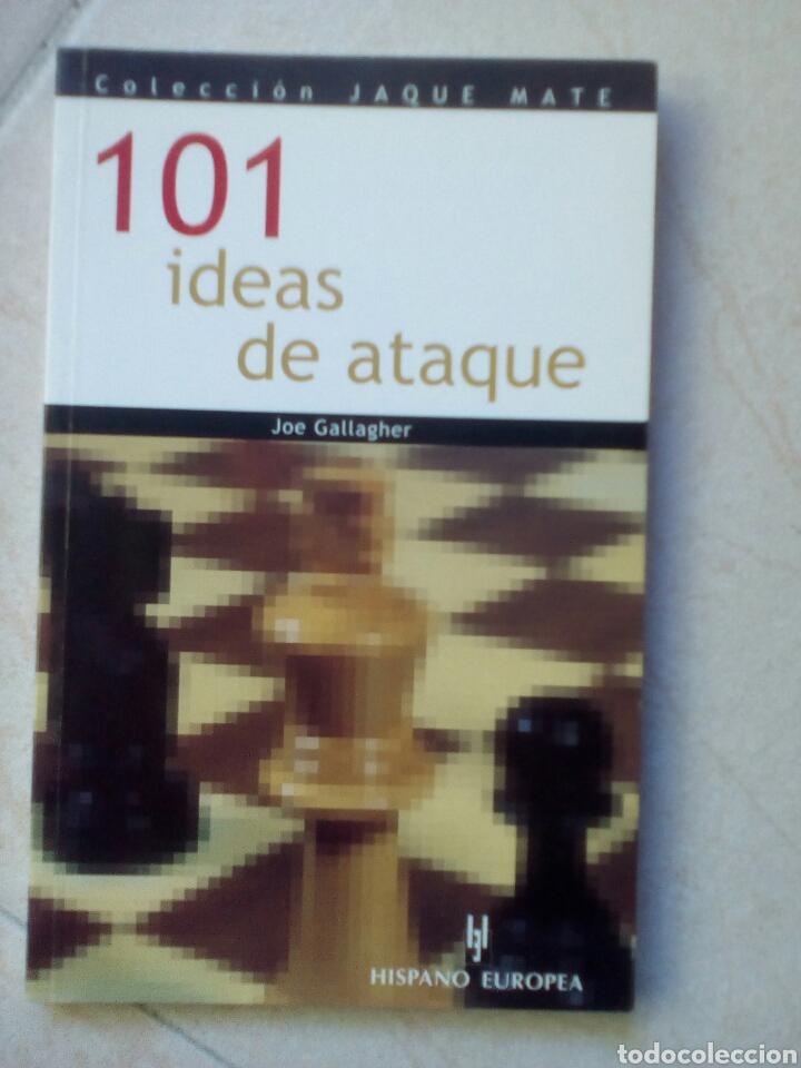 101 IDEAS DE ATAQUE - JOE GALLAGHER (Coleccionismo Deportivo - Libros de Ajedrez)