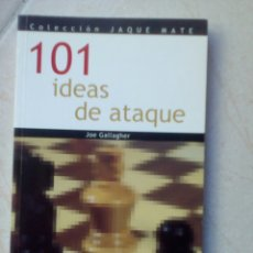 Coleccionismo deportivo: 101 IDEAS DE ATAQUE - JOE GALLAGHER. Lote 178680186