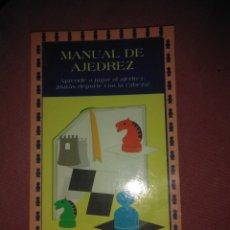 Coleccionismo deportivo: MANUAL DE AJEDREZ - MIGAL - 1996. Lote 178827697