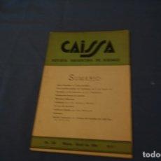 Coleccionismo deportivo: AJEDREZ .CHESS.REVISTA CAISSA. NÚM 159 . MARZO- ABRIL - DE 1954.. Lote 178987861