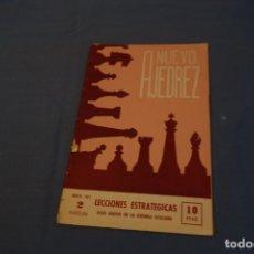 Coleccionismo deportivo: AJEDREZ .CHESS.REVISTA NUEVO AJEDREZ. NÚM 2 MARZO 1957.. Lote 178988732