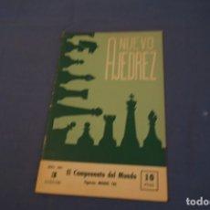 Coleccionismo deportivo: AJEDREZ .CHESS.REVISTA NUEVO AJEDREZ. NÚM 3 ABRIL1957.. Lote 178988835