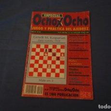 Coleccionismo deportivo: AJEDREZ .CHESS.ESPECIAL . OCHO X OCHO JUEGO Y PRÁCTICA DEL AJEDREZ. AÑO III Nº 25.. Lote 178989445