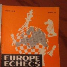 Coleccionismo deportivo: AJEDREZ REVISTA EUROPE ECHECS 1964 N.66 CHESS (EN FRANCÉS). Lote 179185700