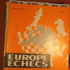 Coleccionismo deportivo: AJEDREZ REVISTA EUROPE ECHECS 1964 N.71 CHESS (EN FRANCÉS). Lote 179186176