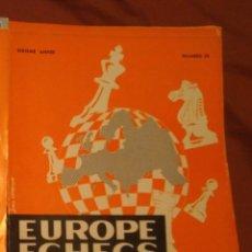 Coleccionismo deportivo: AJEDREZ REVISTA EUROPE ECHECS 1964 N.69 CHESS (EN FRANCÉS). Lote 179186307