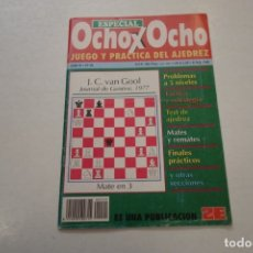 Coleccionismo deportivo: AJEDREZ.CHESS.REVISTA ESPECIAL OCHO X OCHO JUEGO Y PRACTICA DEL AJEDREZ Nº20. Lote 180209497