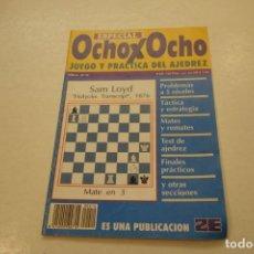 Coleccionismo deportivo: AJEDREZ.CHESS.REVISTA ESPECIAL OCHO X OCHO JUEGO Y PRACTICA DEL AJEDREZ Nº 10. Lote 180209567