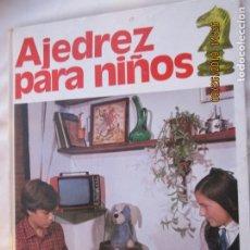 Collectionnisme sportif: AJEDREZ PARA NIÑOS - UNICORNIO - GRUPO MARTINEZ ROCA 1982.. Lote 233292435