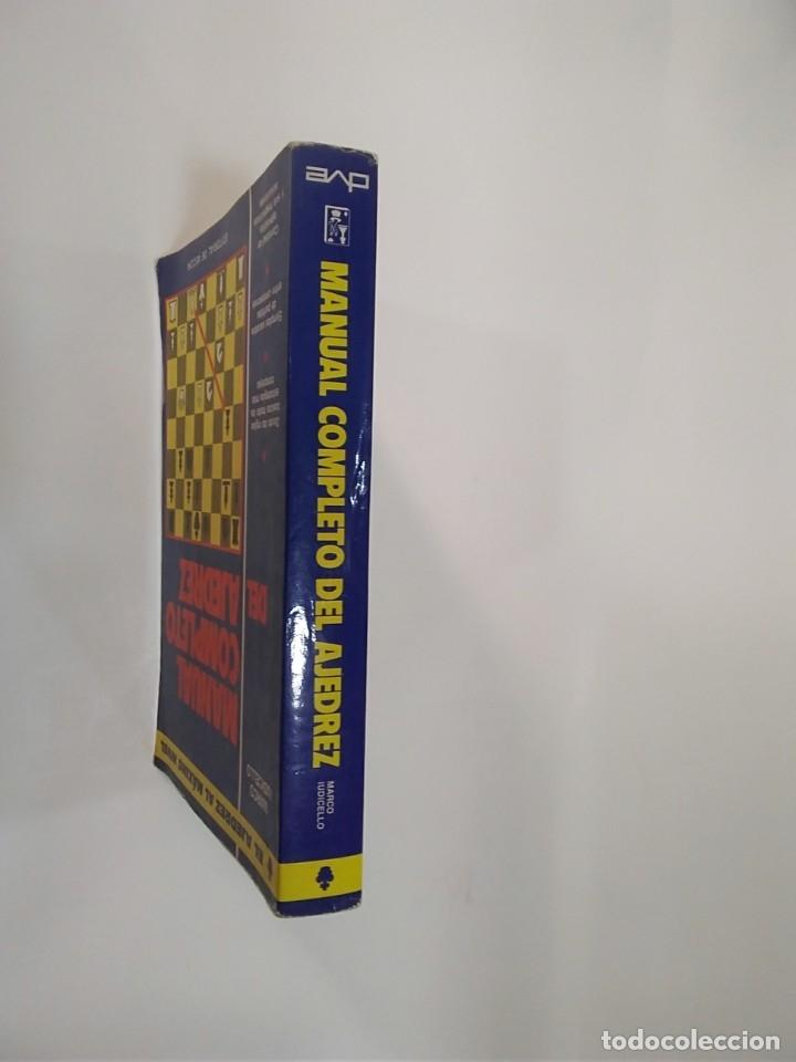 Coleccionismo deportivo: MANUAL COMPLETO DEL AJEDREZ - MARCO IUDICELLO - EDITORIAL DE VECCHI - Foto 2 - 181849863
