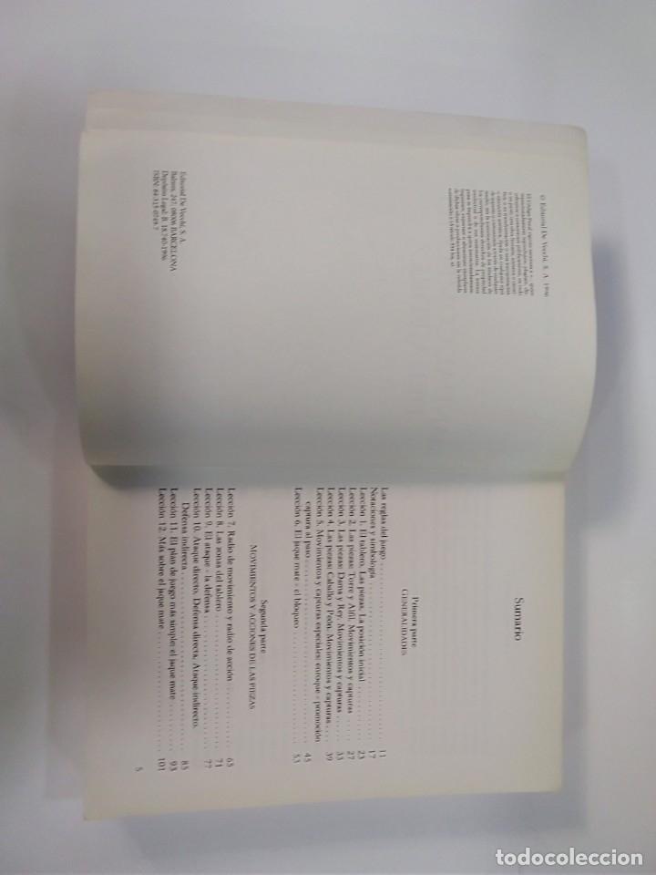 Coleccionismo deportivo: MANUAL COMPLETO DEL AJEDREZ - MARCO IUDICELLO - EDITORIAL DE VECCHI - Foto 4 - 181849863