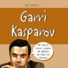 Coleccionismo deportivo: AJEDREZ. ME LLAMO… GARRI KASPAROV - MANUEL MARGARIDO/MANUEL ALVES. Lote 182568101