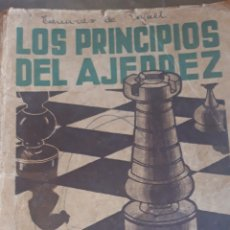 Coleccionismo deportivo: LOS PRINCIPIOS DEL AJEDREZ 1939 R.REY ARDID 1.ª EDICIÓN. Lote 182575633