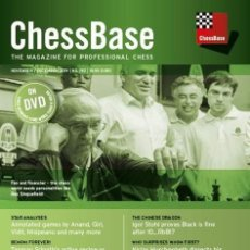 Coleccionismo deportivo: AJEDREZ. CHESS. CHESSBASE MAGAZINE 192 - THE CHESSBASE TEAM DVD. Lote 182721870