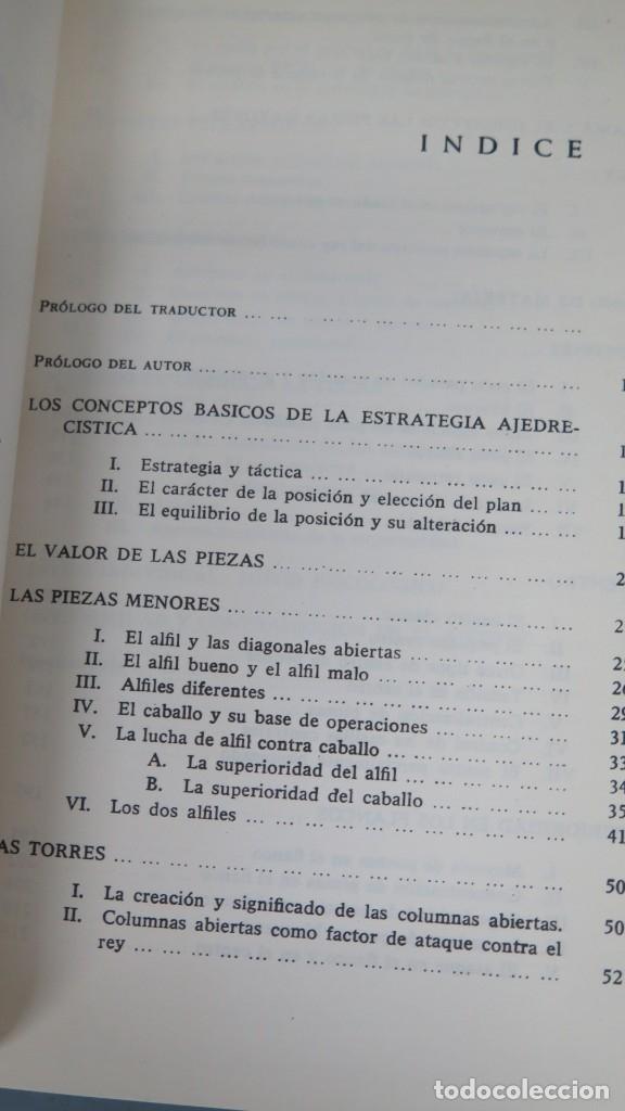 Coleccionismo deportivo: ESTRATEGIA MODERNA EN AJEDREZ. LUDEK PACHMAN - Foto 2 - 182982100