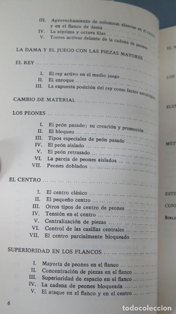 Coleccionismo deportivo: ESTRATEGIA MODERNA EN AJEDREZ. LUDEK PACHMAN - Foto 3 - 182982100