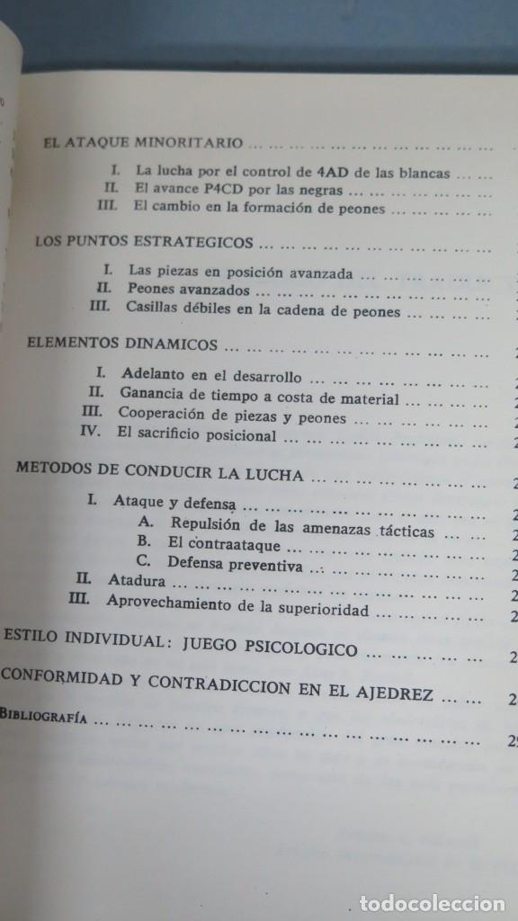 Coleccionismo deportivo: ESTRATEGIA MODERNA EN AJEDREZ. LUDEK PACHMAN - Foto 4 - 182982100