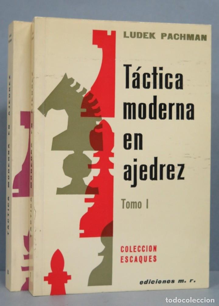 TÁCTICA MODERNA EN AJEDREZ. LUDEK PACHMAN (Coleccionismo Deportivo - Libros de Ajedrez)
