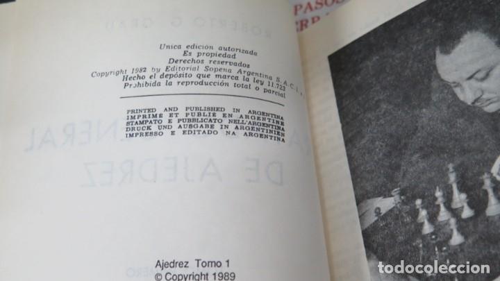Coleccionismo deportivo: TRATADO GENERAL DE AJEDREZ. ROBERTO G. GRAU. 4 TOMOS - Foto 2 - 182982643