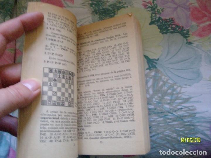 Coleccionismo deportivo: APERTURAS DE FLANCO MAXIMO BORRELL LIBRO PRACTICO BRUGUERA Nº 95 AJEDREZ - Foto 2 - 183280176
