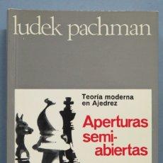 Colecionismo desportivo: APERTURAS SEMI ABIERTAS. LUDEK PACHMAN . Lote 183299048