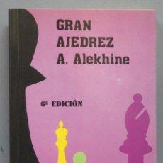 Coleccionismo deportivo: GRAN AJEDREZ. ALEKHINE. Lote 183417018