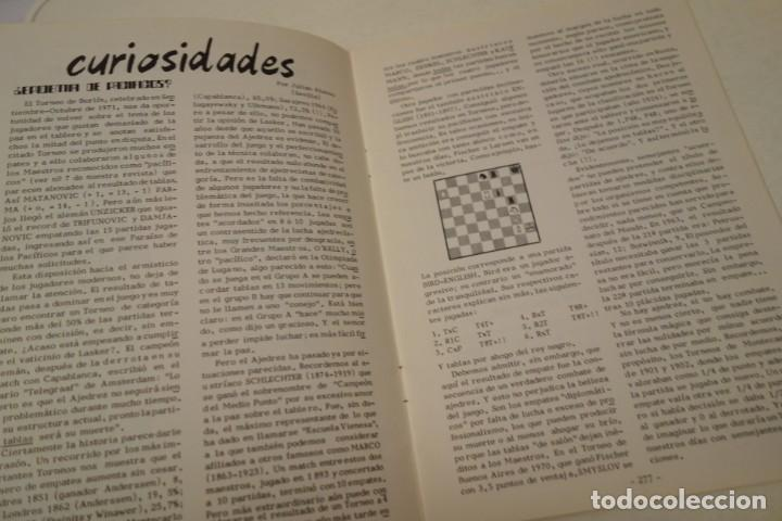 Coleccionismo deportivo: AJEDREZ. CHESS. REVISTA AJEDREZ CANARIO JUNIO 1972. Nº 11 - Foto 2 - 183439742