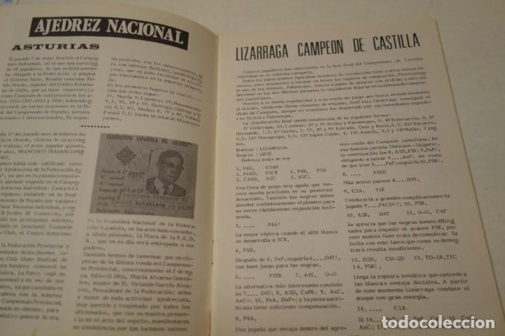 Coleccionismo deportivo: AJEDREZ. CHESS. REVISTA AJEDREZ CANARIO JUNIO 1972. Nº 11 - Foto 3 - 183439742