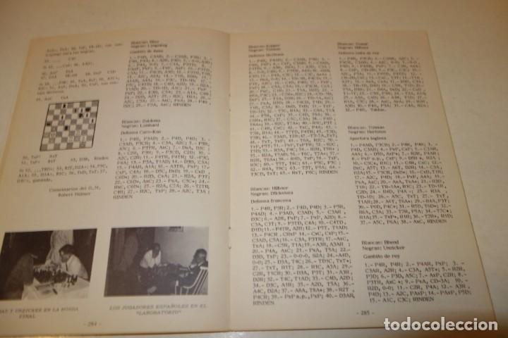 Coleccionismo deportivo: AJEDREZ. CHESS. REVISTA AJEDREZ CANARIO JUNIO 1972. Nº 11 - Foto 6 - 183439742