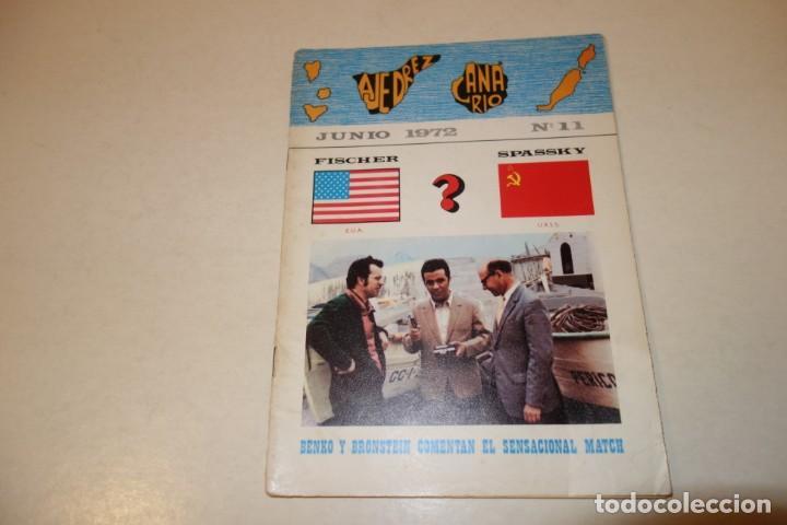 Coleccionismo deportivo: AJEDREZ. CHESS. REVISTA AJEDREZ CANARIO JUNIO 1972. Nº 11 - Foto 7 - 183439742