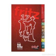 Coleccionismo deportivo: AJEDREZ. CHESS. ESCACS. FRITZ 17 VERSIÓN ESPAÑOLA DVD. Lote 183481322