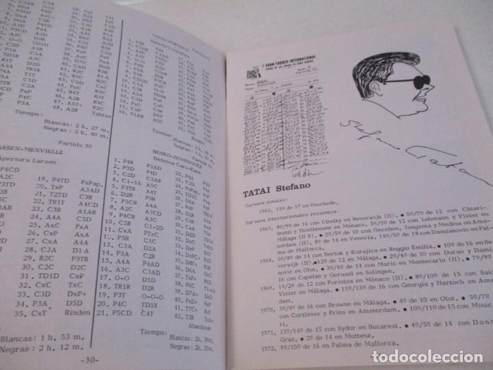 Coleccionismo deportivo: AJEDREZ. CHESS. REVISTA AJEDREZ CANARIO Nº 12. JULIO 1972. I GRAN TORNEO INTERNACIONAL LAS PALMAS DE - Foto 3 - 183592473