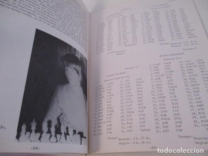 Coleccionismo deportivo: AJEDREZ. CHESS. REVISTA AJEDREZ CANARIO Nº 12. JULIO 1972. I GRAN TORNEO INTERNACIONAL LAS PALMAS DE - Foto 6 - 183592473