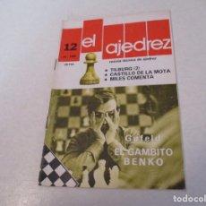 Coleccionismo deportivo: AJEDREZ. CHESS.--- EL AJEDREZ. REVISTA TÉCNICA DE AJEDREZ. NUM 12 DICIEMBRE -1980. Lote 183594693